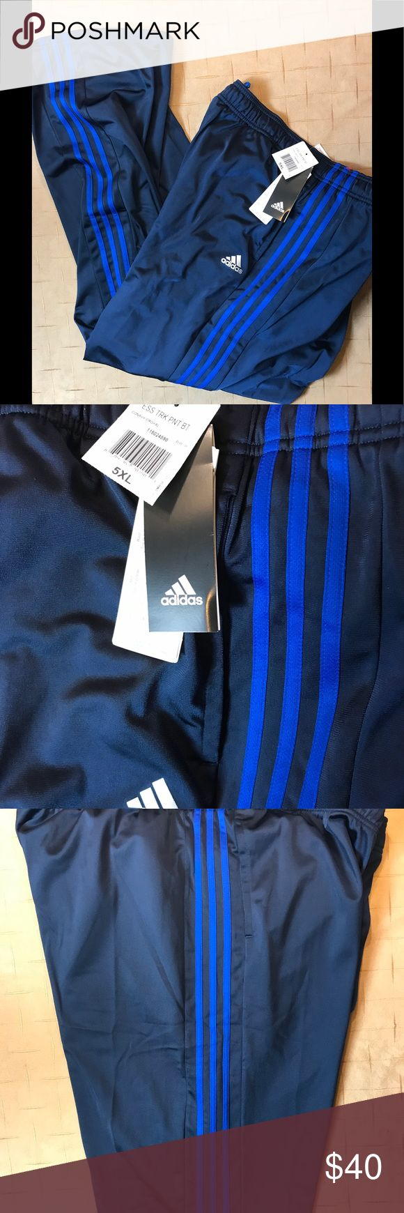 Adidas NWTS athletic pants size 5X Big and Tall 5XL Adidas Mens Athletic Pants NWT adidas Pants Sweatpants & Joggers