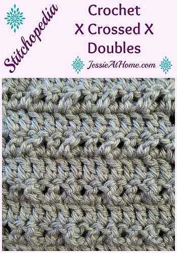 Crochet Stitches Pinterest : ... Double, Double Tutorials, Crochet Stitches, Crochet Patterns, Crafts