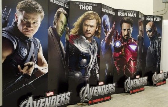 Movie Theater Standees. I'd totally steal these if I could.