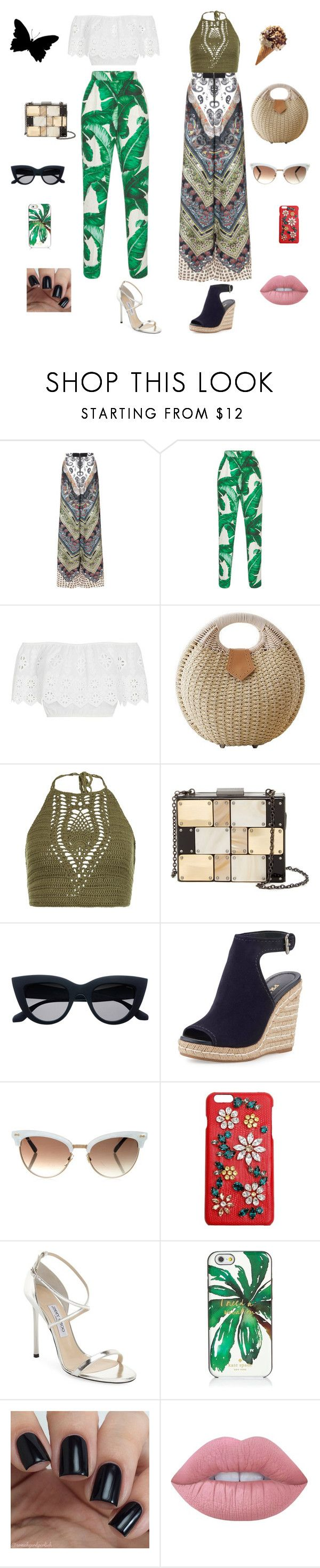114 by malishevan on Polyvore featuring мода, Miguelina, New Look, Alice + Olivia, Dolce&Gabbana, Jimmy Choo, Prada, Sondra Roberts, Gucci and Kate Spade
