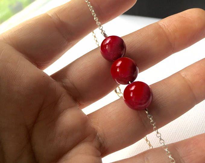 aesidhe | pulseras Mars plata de ley con esferas de piedras semi preciosas y minerales energeticos a elegir: jaspe coral onix amatista lava