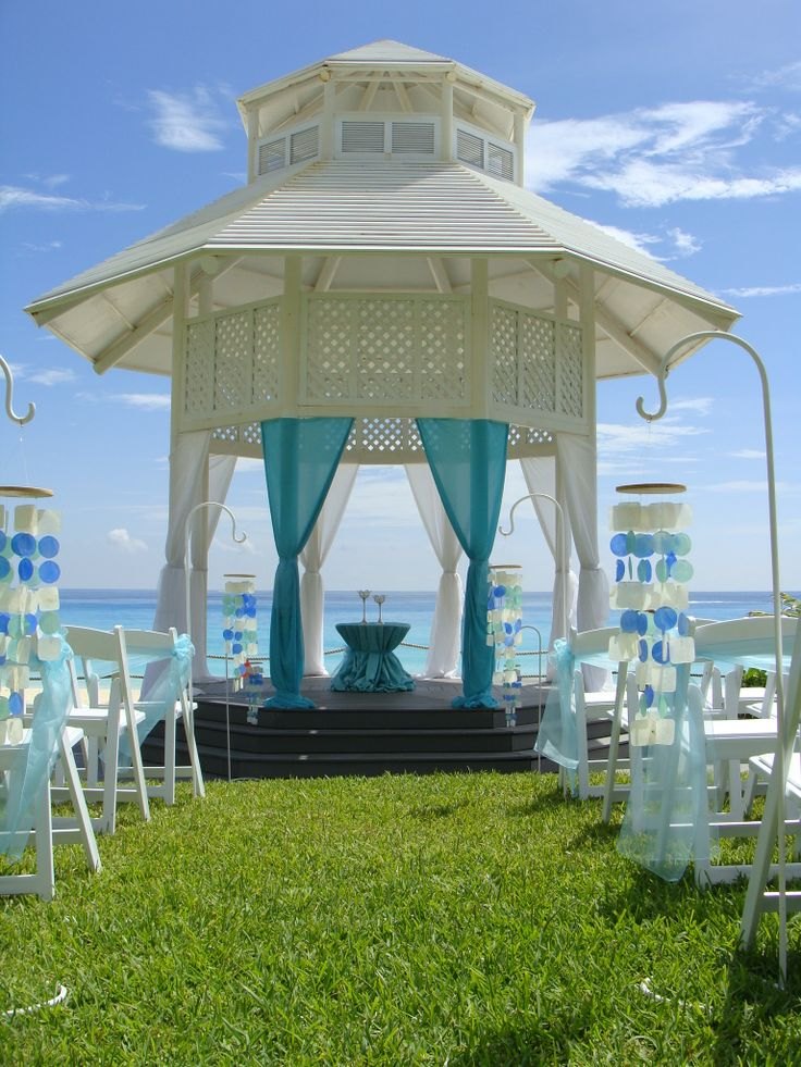 all inclusive beach wedding destinations%0A Paradisus Cancun Resort Wedding Gazebo Inspired Voyages  www inspiredvoyage com email us at