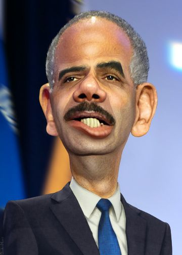 Eric Holder - Caricature | Flickr - Photo Sharing!