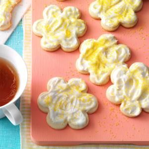 Melt-In-Your-Mouth Lemon Cutouts Recipe from Taste of Home -- shared by Patricia C. Quinn of Omaha, Nebraska