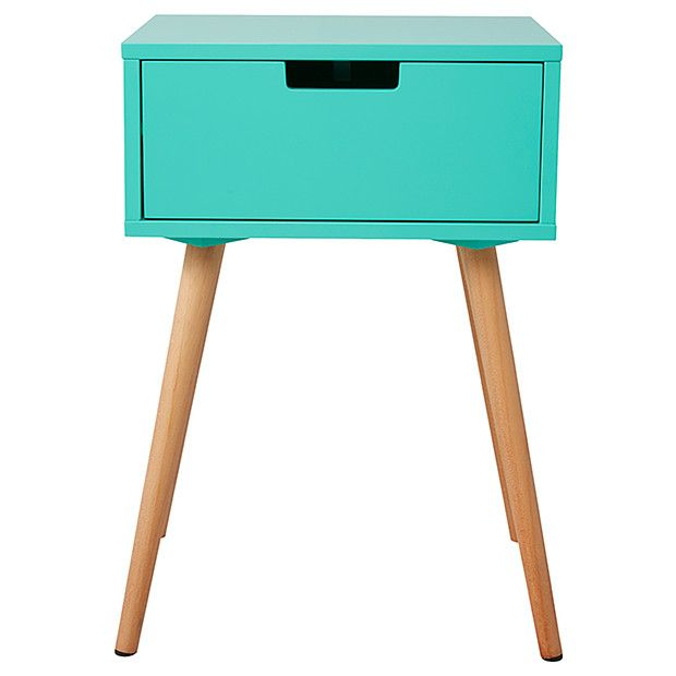 side table with drawer mint