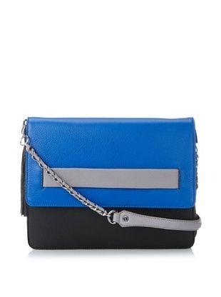 65% OFF Aimee Kestenberg Women's Melanie Convertible Shoulder Bag, Cobalt-Black Multi