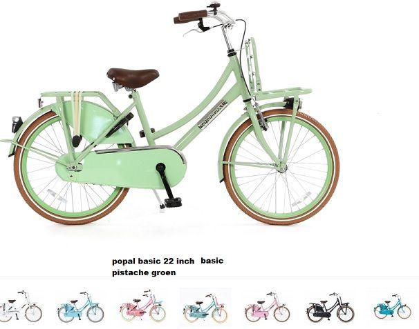 popal 20 inch meisjes fiets diverse kleuren