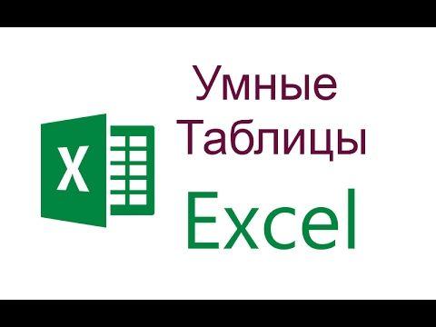 Как сделать умную таблицу в Excel. Уроки Excel