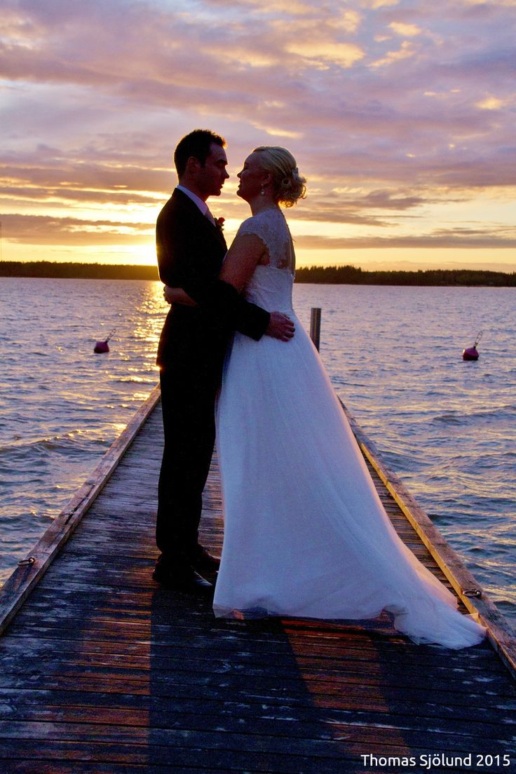 Wedding photography sunset