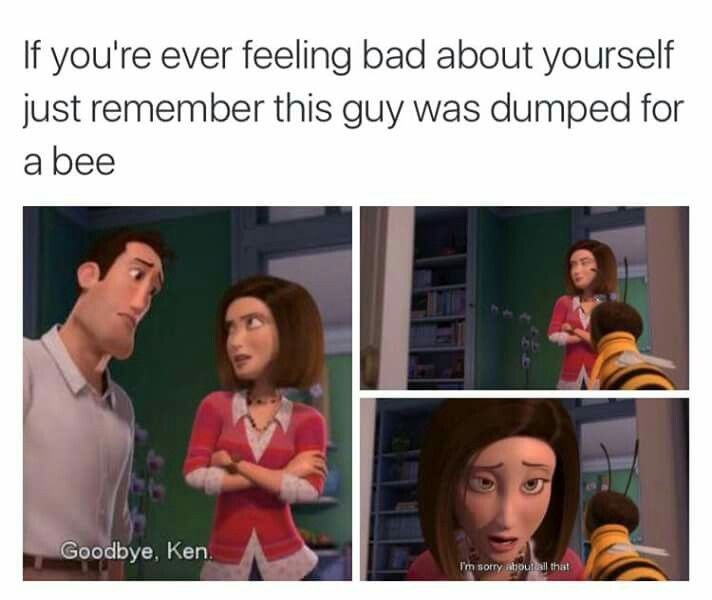 I've always been slightly disgusted with this movie for that reason. I mean, a human and BEE romance?!?! This day and age.. *covers face with hands*