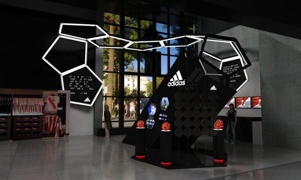 Adidas store -River Plate Project on Behance