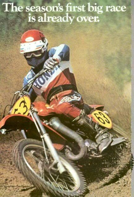 Honda Motocross Ad