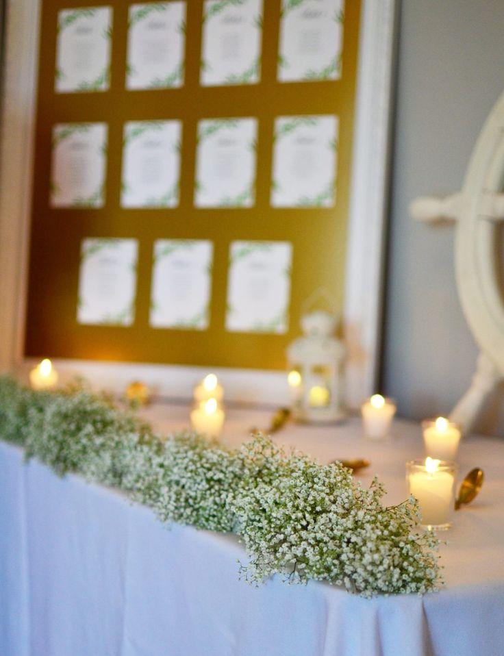 #秋 #ウェディング #結婚式 #かすみ草