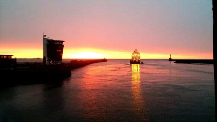 Sunrise in Aberdeen
