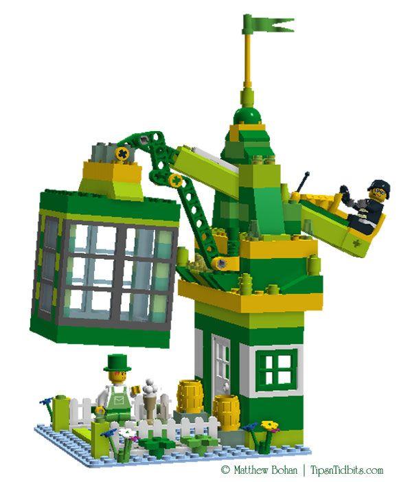 Lego Leprechaun Trap Diy Plans Homeschool Ideas