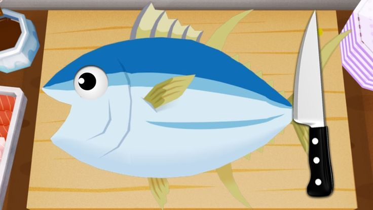 Sushi Master - Fun Cooking Game for Kids - Learn How to Make Sushi with ...