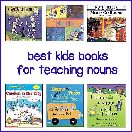 This page lists clever and education children's books for teaching nouns in a fun and engaging way. Compiled by teachers for home and school use.