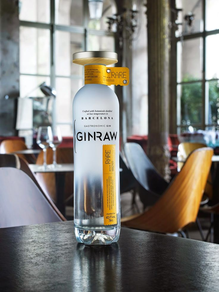 GINRAW, la nueva #GINpremium catalana, que se autoproclama como ginebra gastronómica de Barcelona.