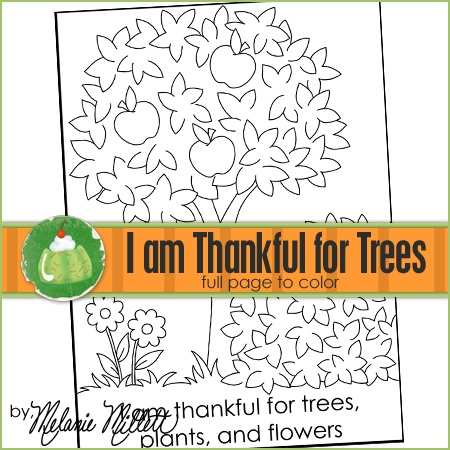 Fancy Coloring Pages Trees Plants And Flowers
