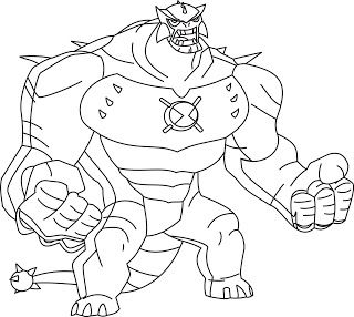 21 best Ben 10 Coloring Pages images on Pinterest