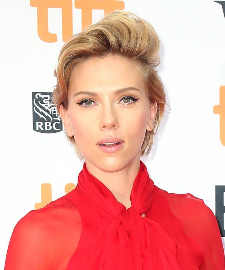 El pixie XXL y con efecto tupé de Scarlett Johansson