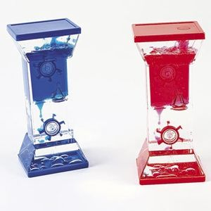 Twin Wheel Drop Lava Liquid Motion Timer Toy $4.95