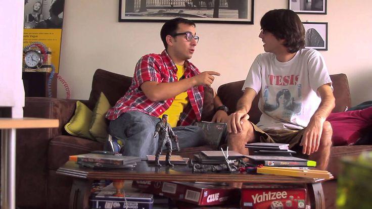 #LosCinéfilos - Ep.1 - #Cameron  divertida serie sobre unos amantes del cine en unos cortos todos los miercoles en youtube