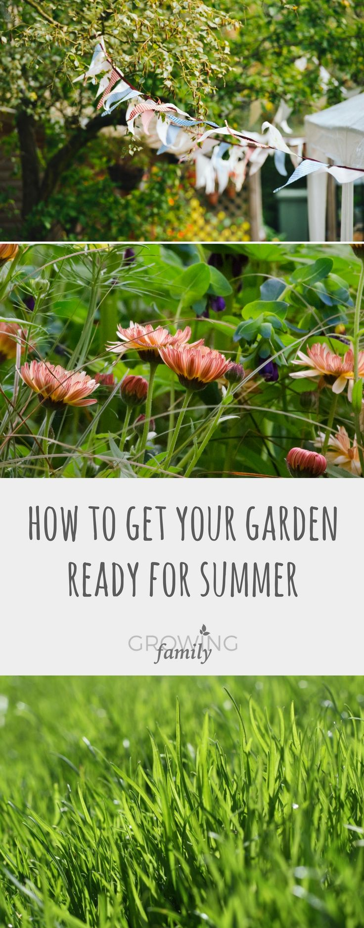 Is your garden ready for summer? Check out these jobs to tackle now, so that you can sit back and enjoy the view when summer arrives!