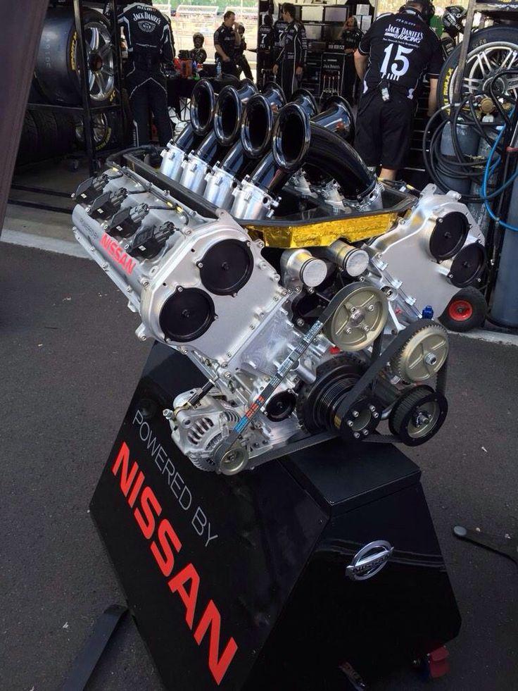 Aussie Nissan V8 Nissan engine.