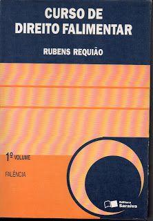 Sebo Felicia Morais: Curso de Direito Falimentar Volume 1