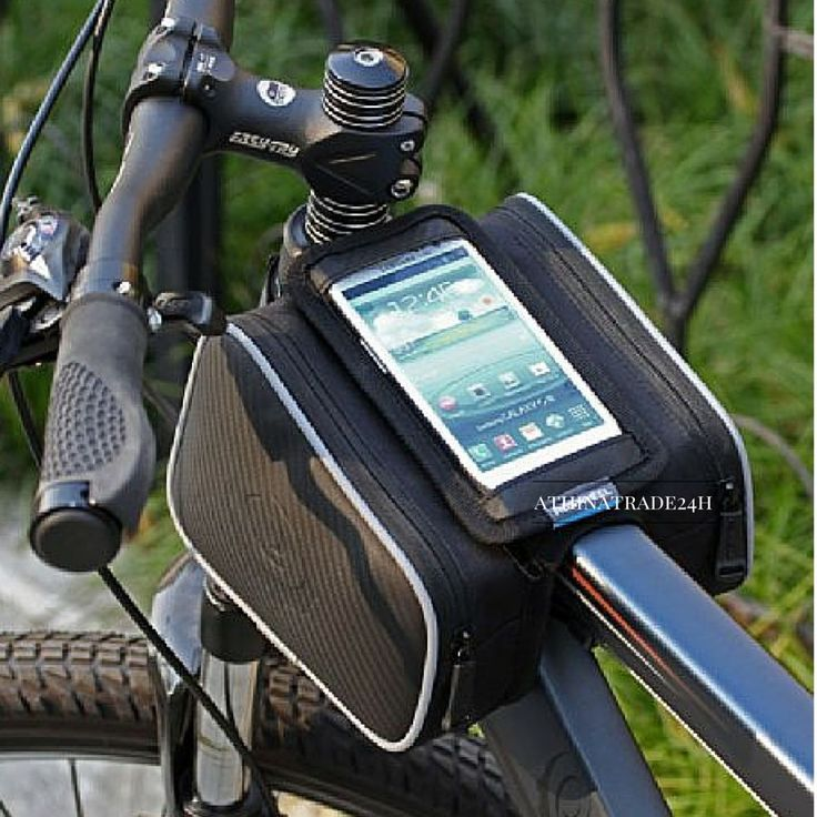 Cycling Bicycle Bike Cell Phone bag Front Top Tube Double Bag Pouch #CyclingBicycleBike