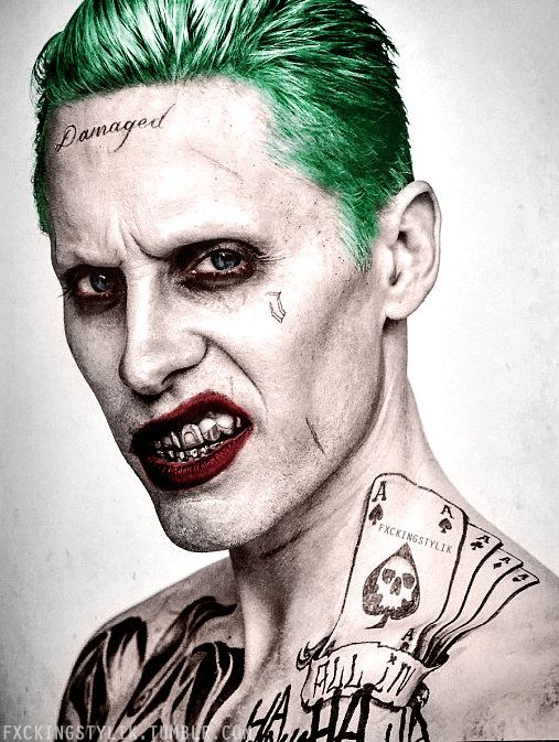 'Suicide Squad' The Joker Portrait                                                                                                                                                                                 More