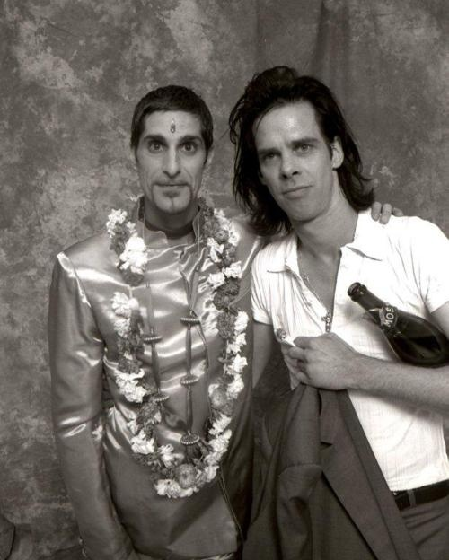 Nick Cave and Perry Farrell, Big Day Out 1996