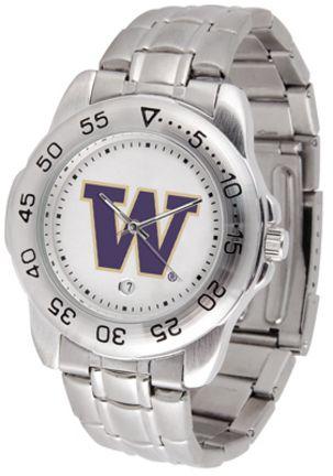 Washington Huskies Sport Steel Band Men's Watch