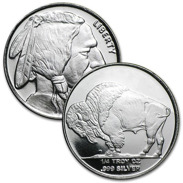 Buy 1 Oz Silvertowne Indian Head Silver Rounds 999 Silver Com Silver Rounds Silver Indian Head