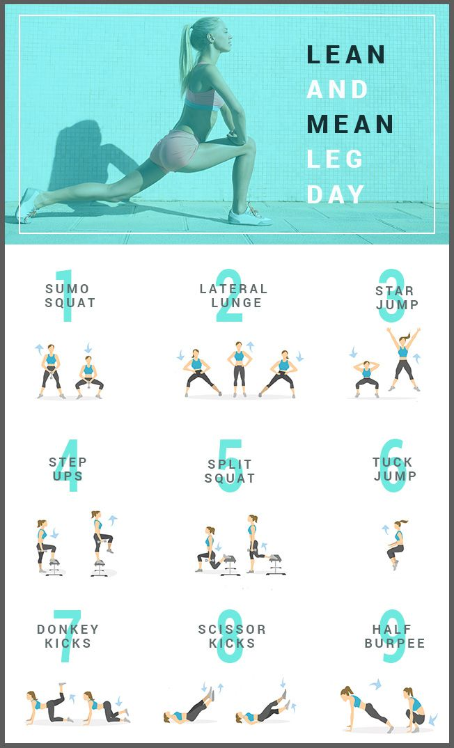 'Lean And Mean,' High-Intensity Workout For Strong Legs And Glutes