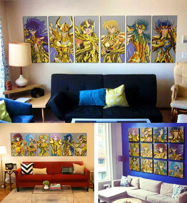Tus personajes favoritos en cuadros decorativos - Pegatinas para la pared ...