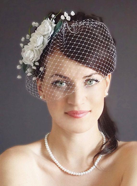Items Similar To Bridal Fascinator