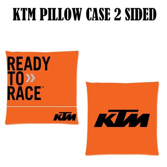KTM Square Pillow Case Cover Bedding 18 X 18 TWO by PimpMyCases, $16.50