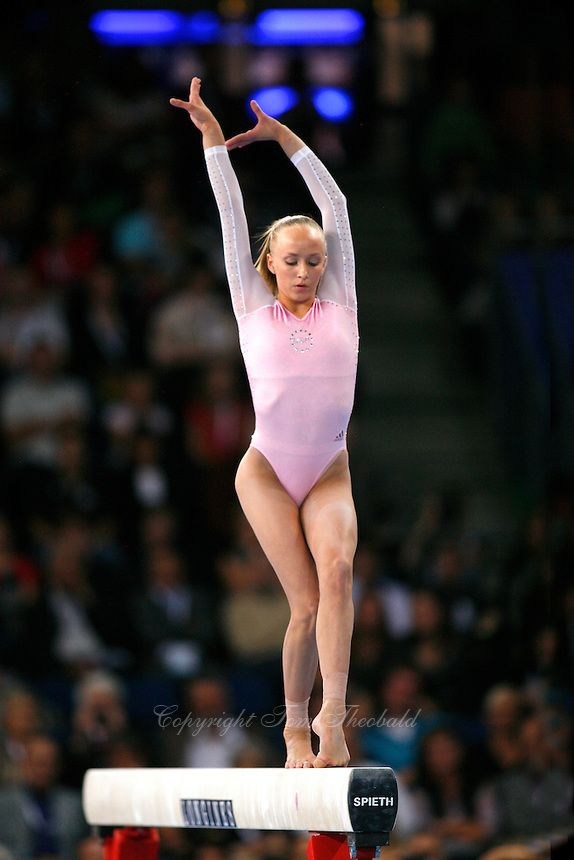 Anastasia Liukin of USA - 2007 World Championships