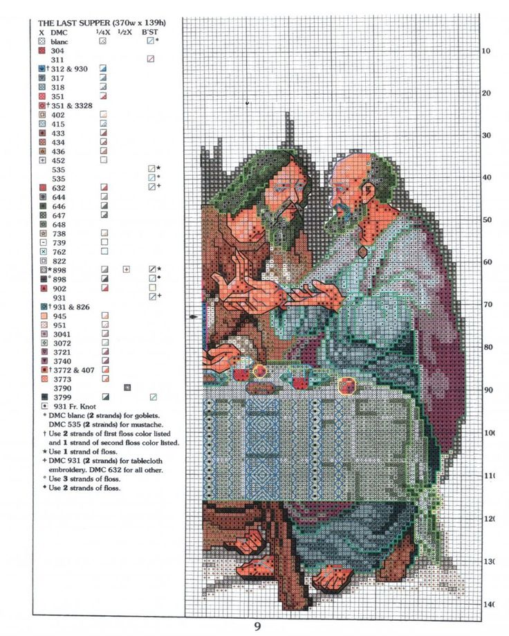 GRAFICOS PUNTO DE CRUZ GRATIS : RELIGIOSO(26)
