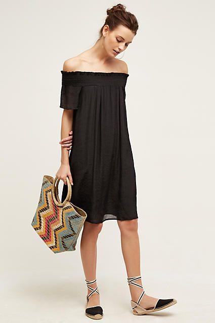 Praslin Off-The-Shoulder Dress - anthropologie.com
