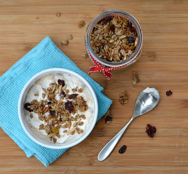 Cinnamon and Coconut Granola | Healthy And Yummy Recipes | Pinterest