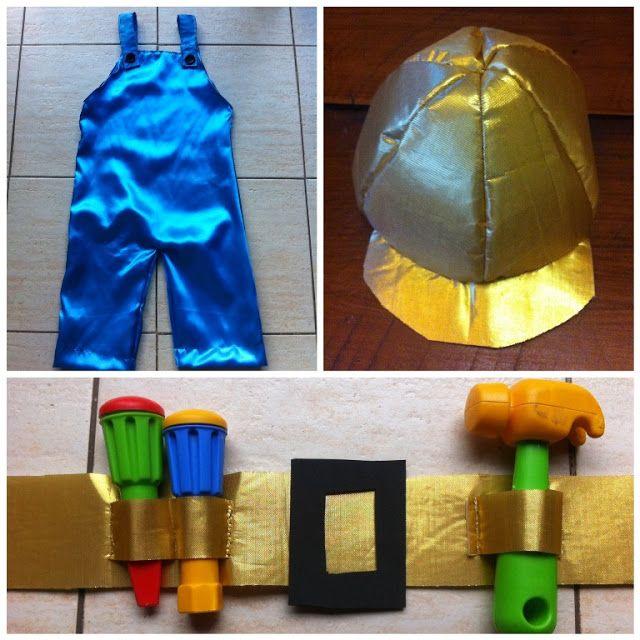 Disfraz Bob, el constructor - Bob, the builder custom - Mamy a la obra
