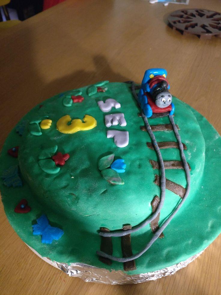 Thomas de trein taart.