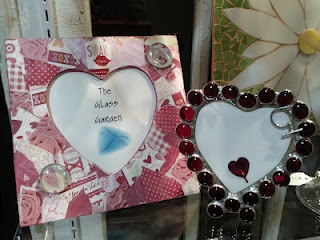 Handmade frames from Airlie Art Glass.... perfect for Valentine's Day!: Valentine'S Day, Gift Guide, Valentine'S S, Gifts Guide, Valentine Day Gifts, Valentines Day Gifts