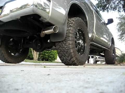Magnaflow dual in/single out catback. 5.7 2010 Tundra