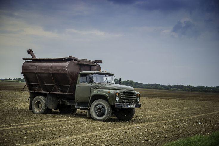 ZIL farm truck in Lithuania