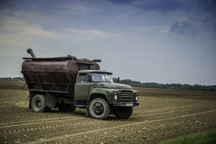 ZIL farm truck in Lithuania