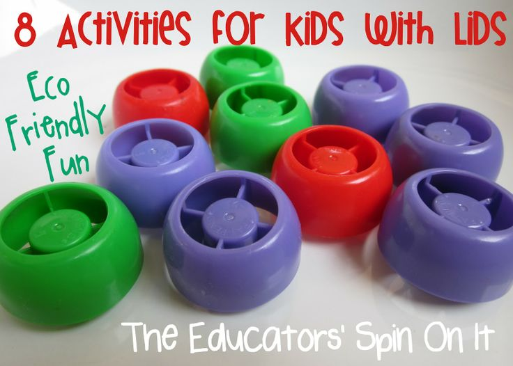 8 Activities For Kids With Lids From The Educators Spin